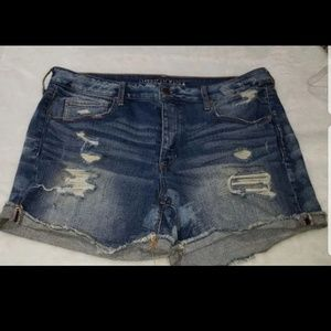 American Eagle Women's Jean Shorts size 18